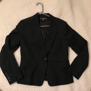 Women's black fitted Merona blazer Size 6